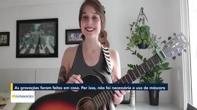 Ex-The Voice, cantora de Nova Friburgo manda mensagem de perseverança para o BDS - Tatila Krau é professora de canto na cidade.