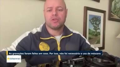 Sem poder fazer shows, DJ de Petrópolis se apresenta em lives da própria casa - Artistas estão usando a internet para mostrar os seus trabalhos durante a quarentena.
