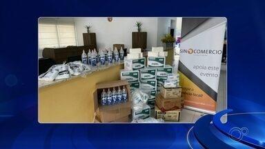 Empresas estão se mobilizando para combater o coronavírus na região de Sorocaba - Em Jundiaí (SP), comércio doou itens de proteção para atendimento na saúde.