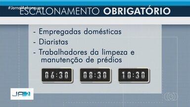 Comércios passam a funcionar em horário escalonado a partir de quarta-feira, em Goiânia - Prefeitura já recebeu pedido de mudança no escalonamento.