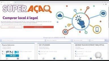 Projeto Superação auxilia comerciantes e consumidores durante o isolamento social - Iniciativa foi desenvolvida pela TV Fronteira.
