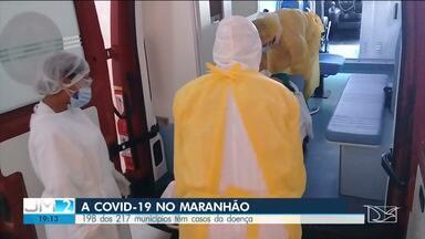 Maranhão ultrapassa 600 mortes por Coivd-19 - Já são mais de 14 mil infectados em 198, dos 217 municípios do estado.