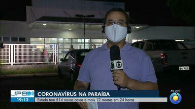 Paraíba tem mais de 5 mil casos confirmados de coronavírus - Estado registra 12 mortes em 24 horas.