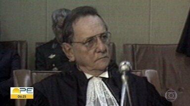 Ex-ministro Evandro Gueiros Leite morre aos 99 anos - Ele morreu em Brasília e era pernambucano.
