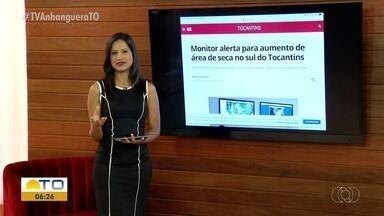 G1: Monitor alerta para aumento de área de seca da região sul do Tocantins - G1: Monitor alerta para aumento de área de seca da região sul do Tocantins