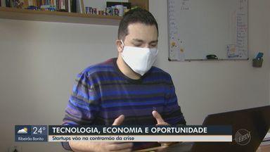 Empresas de tecnologia de São Carlos seguem contratando em meio à pandemia de coronavírus - Home-office permite que profissionais de outras regiões do Brasil trabalhem remotamente para instituições da cidade.