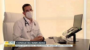 Mesmo com pandemia, alguns pacientes devem continuar tratamento durante pandemia - Pacientes cardíacos e com câncer estão entre eles.