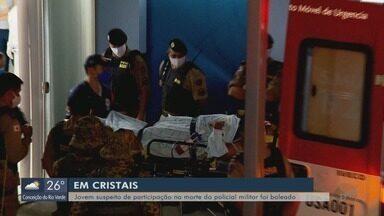 Suspeito de matar policial segue internado após ser baleado em Cristais, MG - Polícia foi morto em Boa Esperança no fim de semana
