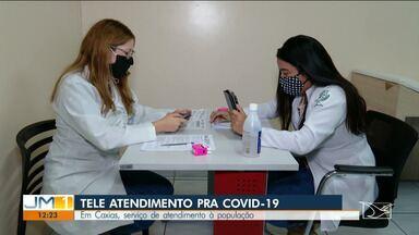 """Serviço de consulta tira dúvidas sobre novo coronavírus em Caxias - Coordenadora da Atenção Primária em Saúde, Camila Lopes, fala sobre """"tele Corona""""."""