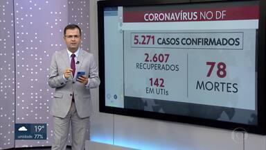 Ministério da Educação e INEP anunciam o adiamento do Enem - As provas serão adiadas de 30 a 60 dias, por causa da pandemia do coronavírus. No DF, já são 78 mortes e 5.271 casos confirmados da doença.