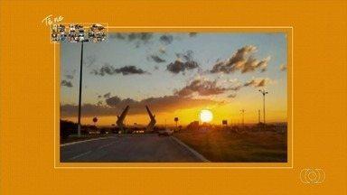 Telespectadores enviam fotos para o quadro 'Tô no BDG' - Imagens podem ser feitas por QVT, Whatsapp e redes sociais.
