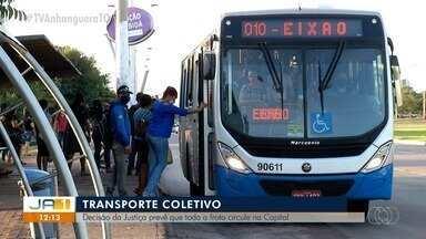 Justiça determina que empresas do transporte público aumentem número de ônibus circulando - Justiça determina que empresas do transporte público aumentem número de ônibus circulando