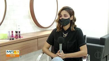 Em Montes Claros, donos de salões de beleza amargam prejuízos e cobram flexibilização - Por causa da pandemia do coronavírus, muitos salões de beleza estão com pouco movimento.
