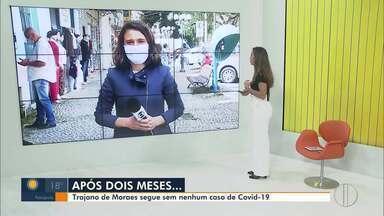 Trajano de Moraes continua sem nenhum caso de Covid-19 - Desde a confirmação do primeiro paciente com o novo coronavírus no estado, em 5 de março, há mais de dois meses, a cidade permanece sem nenhum registro da doença.