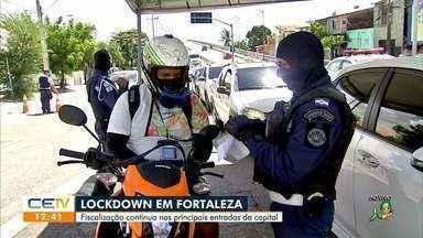 Continuam as barreiras nas principais entrada de Fortaleza - Saiba mais em g1.com.br/ce