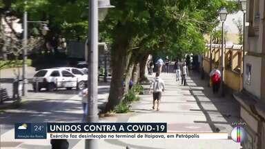 Petrópolis, RJ, tem operação de conscientização de Covid- 19 nesta quarta - A ação acontece em vários pontos do município. A cidade tem 346 casos confirmados e 25 mortes pela doença.