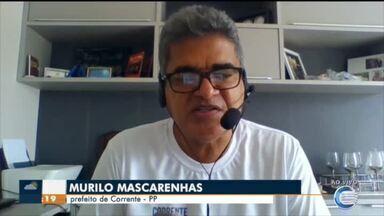 Prefeitos do Sul do Piauí negociam criação de hospital de campanha em Corrente - Prefeitos do Sul do Piauí negociam criação de hospital de campanha em Corrente