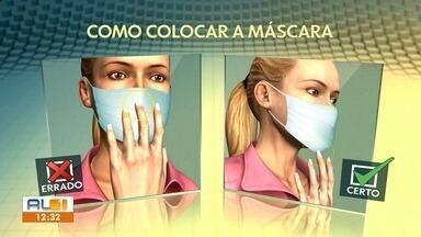 Veja como usar a máscara da maneira correta - Equipamento de segurança ajuda na proteção contra o coronavírus.