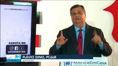 Governo do Estado anuncia queda na taxa de letalidade após o lockdown na Grande São Luís - Dados foram apresentados pelo governador do Maranhão, Flávio Dino (PCdoB), durante entrevista coletiva nesta quinta-feira (21).