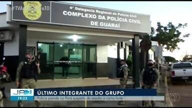 Polícia prende no Pará suspeito de assalto a carro-forte no Tocantins - Polícia prende no Pará suspeito de assalto a carro-forte no Tocantins