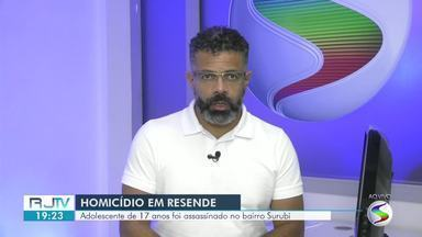 Dois homicídios são registrados no Sul do Rio - Adolescente, de 17 anos, morreu em Resende e um homem, de 38, em Porto Real.