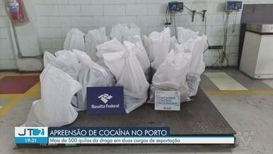 Polícia Federal apreende mais de 500 kg de cocaína no Porto de Santos - Droga estava escondida em duas cargas para exportação.