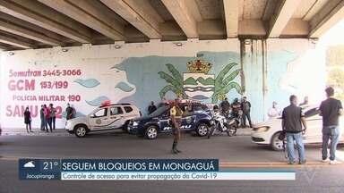 Cidades do litoral de SP continuam com bloqueios durante 'megaferiado' da Capital - Mesmo com liminar do bloqueio na Rodovia Padre Manoel da Nóbrega sendo derrubada, cidades continuam ação.