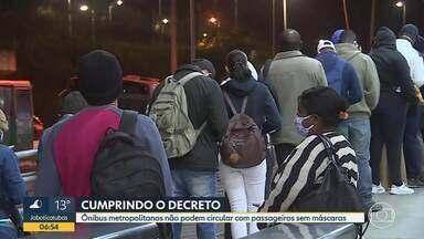 Ônibus ficam cheios antes das 6 da manhã - Equipe do Bom Dia Minas esteve na Estação São Gabriel.