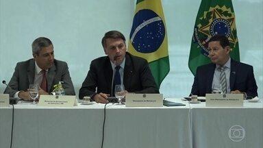 Sergio Moro diz que vídeo confirma tentativa de interferir na PF - Bolsonaro se defende após divulgação do vídeo de reunião ministerial e diz que não houve indício de interferência.