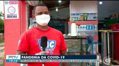 Comerciantes da zona rural do Piauí conseguem lucro durante a pandemia - Comerciantes da zona rural do Piauí conseguem lucro durante a pandemia