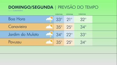 Confira a previsão do tempo para o campo piauiense nesta semana - Confira a previsão do tempo para o campo piauiense nesta semana