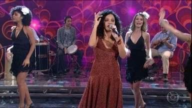 Dudu Nobre, Teresa Cristina, Mart'nália e Diogo Nogueira são relembrados no Domingão - Reveja apresentações marcantes no palco do Domingão