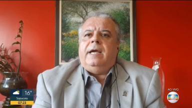 Professor da UFRJ alerta que expectativa é que pico de casos de coronavírus aconteça no início de junho - Guilherme Travassos, que participou de estudo da UFRJ, explica que cálculo do pico é feito com base no comportamento de contágio.