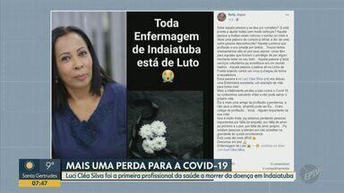 Morte de enfermeira é 1ª por Covid-19 na área da saúde de Indaiatuba, diz prefeitura - Luci Cléa da Silva, de 58 anos, estava internada desde o dia 18 e teve óbito confirmado no sábado.