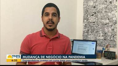 Mudanças de negócios durante a pandemia - Confira os detalhes com o repórter Felipe Valentim.