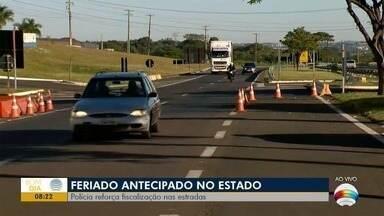 Polícia Rodoviária reforça fiscalização nas estradas - Motoristas devem ficar atentos para evitar acidentes.