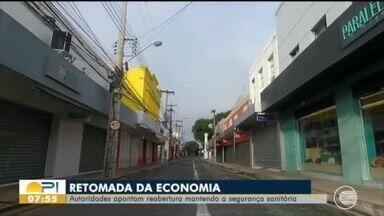 Autoridades do Piauí estudam retorno gradativo de atividades econômicas - Autoridades do Piauí estudam retorno gradativo de atividades econômicas
