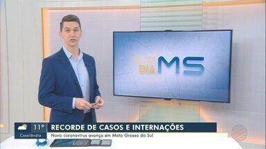 Mato Grosso do Sul confirmou até domingo 924 casos de covid-19 - Mato Grosso do Sul confirmou até domingo 924 casos de covid-19