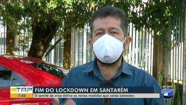 Em Santarém, 'lockdown' não é prorrogado - Confira o novo o decreto.