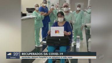 Curados da Covid-19 em Araraquara se adaptam à nova vida - Pacientes que enfrentaram a UTI contam como foi a luta contra a doença e os cuidados que devem tomar.