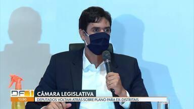 Câmara Legislativa volta atrás e desiste de plano de saúde vitalício para ex-deputados - Articulador da proposta, deputado Rodrigo Delmasso (Republicanos) publicou um pedido de desculpas nas redes sociais.