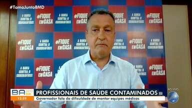 Rui Costa fala sobre chegada dos respiradores à Bahia e ações de combate à Covid-19 - Confira o que diz o governador do estado.