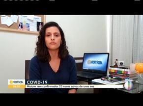Covid-19: Confira como está a situação no Leste e Nordeste de MG - Prefeitura de Mutum confirma 23 casos de Covid-19 em 24h e número total chega a 30.