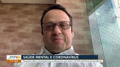 Psiquiatra orienta profissionais que atuam na linha de frente do combate ao coronavírus - Os profissionais de áreas essenciais devem manter a saúde mental estável durante a pandemia.