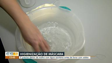 Dicas da Lucy: consultora do ES ensina como higienizar máscaras reutilizáveis - undefined