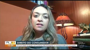 Advogada explica quais são os direitos do consumidor em relação ao atraso dos produtos - Moradores de Barra do Piraí sofrem com a demora na entrega das encomendas pelos Correios.