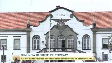 40% dos alunos da Escola Preparatória de Cadetes do Ar são contaminados pela Covid-19 - O Ministério Público Federal investiga a denúncia de que a EPCAR, em Barbacena, Minas Gerais, não teria respeitado as regras de isolamento social.
