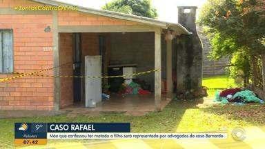 Mãe que confessou ter matado filho em Planalto terá advogados do caso Bernardo - Defesa reforçou que morte foi sem intenção.