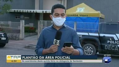 Plantão policial: confira as informações da polícia desta quinta-feira - Vejas as ocorrências registradas.