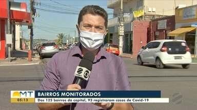 O avanço da Covid-19 pelos bairros de Cuiabá - O avanço da Covid-19 pelos bairros de Cuiabá